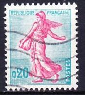 FRANCE 1960 YT N° 1233a Obl. TYPE II - 1903-60 Semeuse Lignée