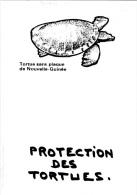 CPM Protection Des Tortues Tortue Sans Plaque De Nouvelle Guinée Turtle Tortoise Protection Animale Animal Welfare - Schildpadden