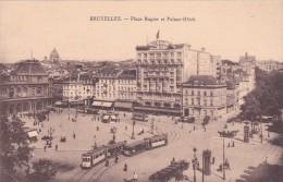 Bruxelles - Place Rogier Et Palace-Hôtel - Places, Squares