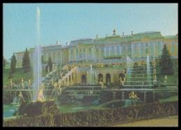 602 RUSSIA 1979 ENTIER POSTCARD 6676 (K134) Mint PETRODVORETS PETERHOFF PETERHOF PETERGOF FOUNTAIN FONTAINE PALACE - 1970-79