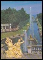 601 RUSSIA 1979 ENTIER POSTCARD 6676 (K134) Mint PETRODVORETS PETERHOFF PETERHOF PETERGOF FOUNTAIN FONTAINE SAMSON - 1970-79