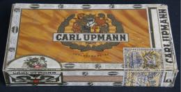 CIGAR CASES - Mahogany Wood - Carl Upmann - Zigarrenetuis