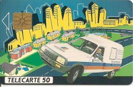 CARTE°-PUCE-PRIVEE-PUBLIC- 50U-EN392-GEMA-06/92-DOMOSERVICES-R°Laqué-UTILISE-TBE - 50 Einheiten