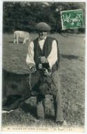 Scénes Et Types Landais LL 10 Un Berger (vacher Et Vaches) - Unclassified