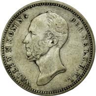 Monnaie, Pays-Bas, William II, 25 Cents, 1849, TTB, Argent, KM:76 - 1840-1849 : Willem II