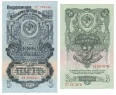 Russia / 1947 Rubles 3 + 5 Rubles - Russia