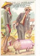 """Louis CARRIERE   """"   Pourquoi Ce Porc A-t-il Une Jambe De Bois?....."""" - N° 50326 - Carrière, Louis"""