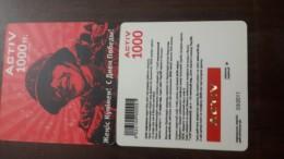 Kazakhstan-activ Prepiad Card-(1000)-(1card)-mint+1card Prepiad Free