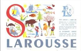 Buvard LAROUSSE Petit Larousse Grand Ami Jeu Des Mots (30 Mots à Trouver) Lettre S - Stationeries (flat Articles)