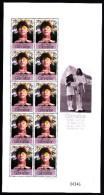 Gibraltar MNH Scott #802-#804 Set Of 3 Minisheets Of 10 John Lennon - 30th Anniversary Wedding In Gibraltar - Gibraltar