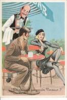 """Louis CARRIERE   """"   Et Maintenant Que Prendra Monsieur..?  Une Blonde.. """" N° 50326 - Carrière, Louis"""