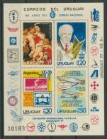 Uruguay 1977 Jahresereignisse 1453/56 Postfrisch Sonderblock (C22553) - Uruguay