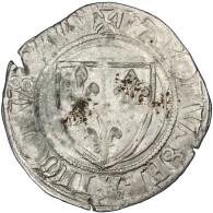 "Charles VI, Blanc Dit ""Guénar"", Dijon - 987-1789 Monnaies Royales"