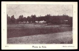 MISSAO Da HUILA. Old Postcard ANGOLA AFRICA - Angola