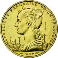 Monnaie, Côte Française Des Somalis, 20 Francs, 1952, Paris, FDC - Djibouti