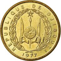 Monnaie, Djibouti, 10 Francs, 1977, FDC, Aluminium-Bronze, KM:E4 - Djibouti