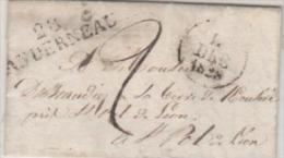 29  LANDERNEAU  14/12/1828 - Postmark Collection (Covers)