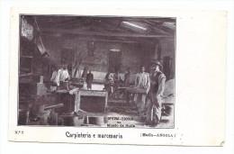 CARPINTARIA E MARCENARIA. Postal Da Oficina Escola Da Missão Da Huila. Old Postcard ANGOLA AFRICA - Angola