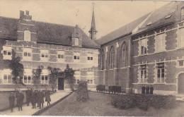 HERENTALS 1933 KOSTSCHOOL DER ZUSTERS FRANCISCANESSEN TE HERENTHALS VOORPLAATS - Herentals