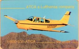 United States - SKU-10718, ATCA: Lufthansa Airplane Flying School (Yellow Plane), 20 U, 2000ex, Mint - United States