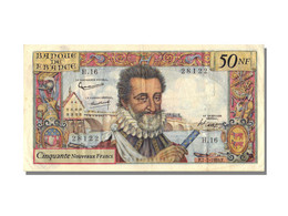 50 Nouveaux Francs Type Henri IV - 1959-1966 Nouveaux Francs