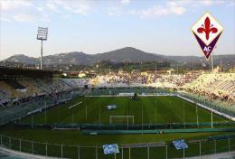 Stadium Artemio Franchi (Fiorentina,Italia) Postcard - Size: 15x10 Cm. Aprox. - Fútbol