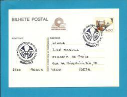 BRAGA - 27.05.1983 - Corpo Nacional De Escutas - 60.º Aniversário - Postmark Stationery Card - Portugal - Enteros Postales