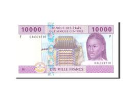 États De L'Afrique Centrale, 10,000 Francs, 2002, KM:510Fa, Undated, NEUF - États D'Afrique Centrale