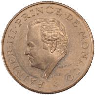Monaco, Rainier III, 10 Francs - Mónaco
