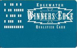 Edgewater Casino Laughlin NV Qualifier Card - Casino Cards
