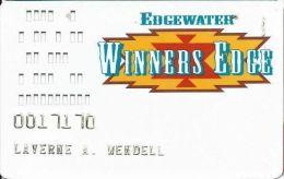 Edgewater Casino Laughlin NV Slot Card - Casino Cards