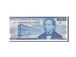 Mexique, 50 Pesos, Type B. Juarez - México