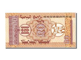 Mongolie, 20 Mongo Type Mongol Bank - Mongolia