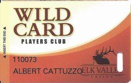 Elk Valley Casino Crescent City CA Slot Card - Casino Cards