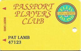 Ellis Island Casino LV 4th Issue Slot Card - ACC Above Mag Stripe (Printed) - Casino Cards