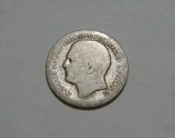SERBIA - KINGDOM 50 PARA 1879, F 2.22 Gr. - Serbie