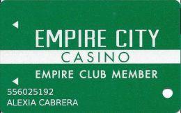 Empire City Casino Yonkers Raceway Yonkers NY Slot Card - Casino Cards