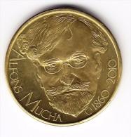 2010 Czech Republic Alfons Mucha Medal - Tchéquie
