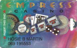 Empress Casino Hammond IN Slot Card - Casino Cards
