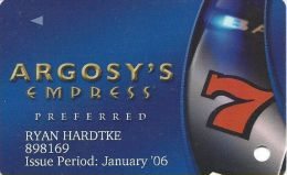 Empress Casino Joliet IL Slot Card - Casino Cards