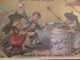 Chromo 19ème Liebig Véritable Enfants Danse Traditionnelle  Compagnie Liebig - Liebig