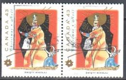 Canada 1993 - Mi.1394 D - Horizontal Pair - Used Gestempelt - 1952-.... Règne D'Elizabeth II