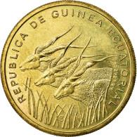 Monnaie, Equatorial Guinea, 25 Francos, 1985, FDC, Aluminum-Bronze, KM:E29 - Guinée Equatoriale