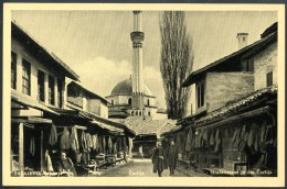 Sarajevo _ 7, Carsija, Straßenszene In Der Carsija, Markt, Bazar,, 1941 - Bosnien-Herzegowina