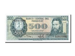 Paraguay, 500 Guaranies Type General Bernardino Caballero - Paraguay