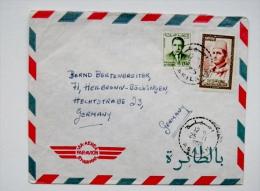 Cover Sent From Morroco Maroc 1965 - Marokko (1956-...)