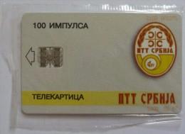 YUGOSLAVIA - Belgrade - 1st Chip Card - 1997 - Mint Blister - Yougoslavie