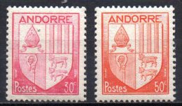 420/ Andorre  : N° 94 & 96 Neuf XX , Cote : 0,30 € , Disperse Belle Collection !