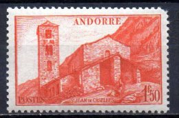420/ Andorre  : N° 102 Neuf XX , Cote : 0,30 € , Disperse Belle Collection !