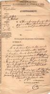 TB 906 - CLERMONT FERRAND - CàD Des Imprimés PARIS Sur Papier Des Domaine & Du Timbre - Marcophilie (Lettres)